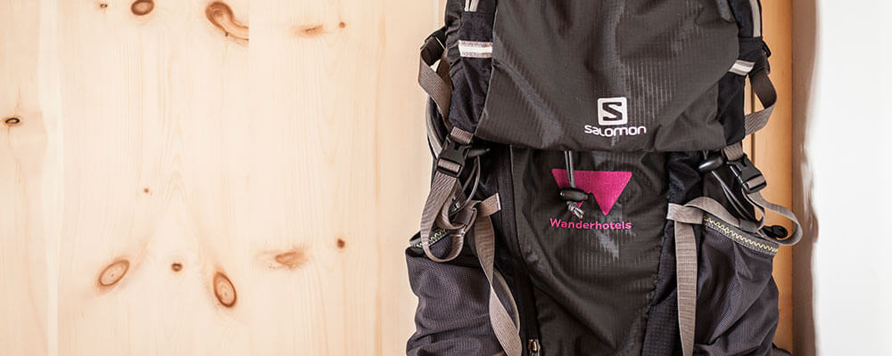 Salewa branded rucksacks
